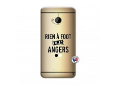 Coque HTC ONE M7 Rien A Foot Allez Angers