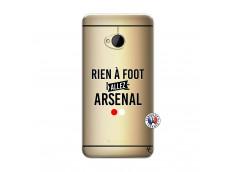 Coque HTC ONE M7 Rien A Foot Allez Arsenal