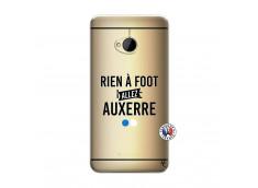 Coque HTC ONE M7 Rien A Foot Allez Auxerre