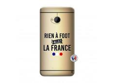 Coque HTC ONE M7 Rien A Foot Allez La France