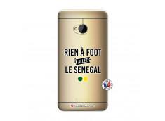 Coque HTC ONE M7 Rien A Foot Allez Le Senegal