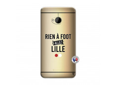 Coque HTC ONE M7 Rien A Foot Allez Lille