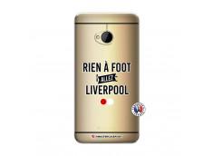 Coque HTC ONE M7 Rien A Foot Allez Liverpool