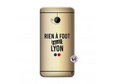 Coque HTC ONE M7 Rien A Foot Allez Lyon
