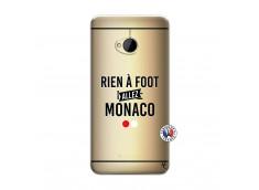 Coque HTC ONE M7 Rien A Foot Allez Monaco