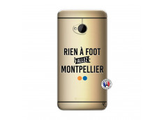 Coque HTC ONE M7 Rien A Foot Allez Montpellier