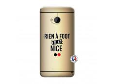 Coque HTC ONE M7 Rien A Foot Allez Nice