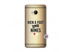 Coque HTC ONE M7 Rien A Foot Allez Nimes