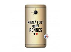 Coque HTC ONE M7 Rien A Foot Allez Rennes