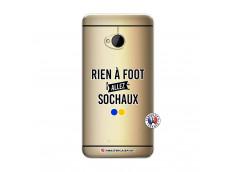 Coque HTC ONE M7 Rien A Foot Allez Sochaux