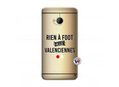Coque HTC ONE M7 Rien A Foot Allez Valenciennes