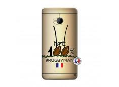 Coque HTC ONE M7 100 % Rugbyman Entre les Poteaux
