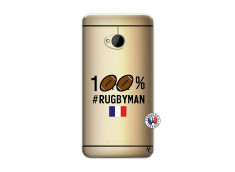 Coque HTC ONE M7 100% Rugbyman