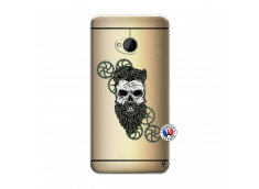 Coque HTC ONE M7 Skull Hipster