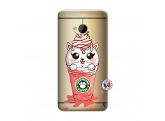 Coque HTC ONE M7 Catpucino Ice Cream