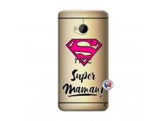 Coque HTC ONE M7 Super Maman