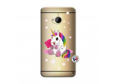Coque HTC ONE M7 Sweet Baby Licorne