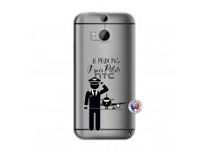 Coque HTC ONE M8 Je peux pas j'suis pilote