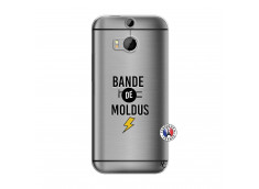 Coque HTC ONE M8 Bandes De Moldus