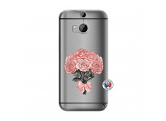 Coque HTC ONE M8 Bouquet de Roses
