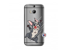 Coque HTC ONE M8 Dog Impact