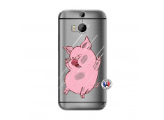Coque HTC ONE M8 Pig Impact