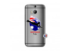Coque HTC ONE M8 Coupe du Monde Rugby-Australia