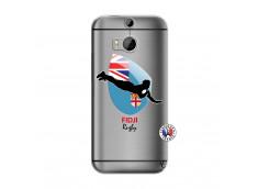 Coque HTC ONE M8 Coupe du Monde Rugby Fidji