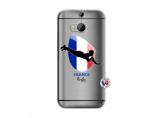 Coque HTC ONE M8 Coupe du Monde de Rugby-France