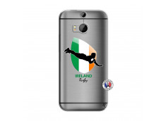 Coque HTC ONE M8 Coupe du Monde Rugby-Ireland