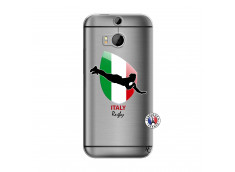 Coque HTC ONE M8 Coupe du Monde Rugby-Italy