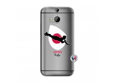 Coque HTC ONE M8 Coupe du Monde Rugby-Japan