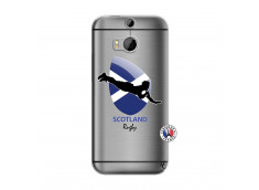 Coque HTC ONE M8 Coupe du Monde Rugby-Scotland