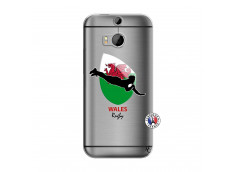 Coque HTC ONE M8 Coupe du Monde Rugby-Walles