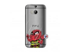 Coque HTC ONE M8 Dead Gilet Jaune Impact