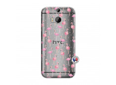 Coque HTC ONE M8 Flamingo
