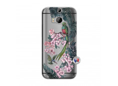 Coque HTC ONE M8 Flower Birds