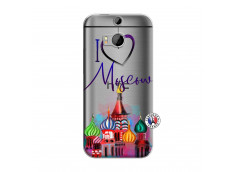 Coque HTC ONE M8 I Love Moscow