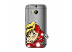 Coque HTC ONE M8 Iron Impact