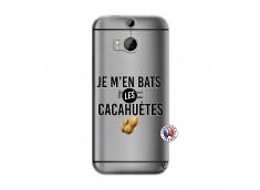 Coque HTC ONE M8 Je M En Bas Les Cacahuetes