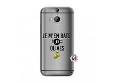 Coque HTC ONE M8 Je M En Bas Les Olives