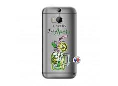 Coque HTC ONE M8 Je peux pas J'ai Apéro