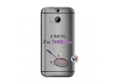 Coque HTC ONE M8 Je Peux Pas J Ai Badminton