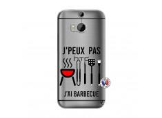 Coque HTC ONE M8 Je Peux Pas J Ai Barbecue
