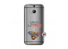 Coque HTC ONE M8 Je Peux Pas J Ai Basket