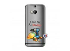 Coque HTC ONE M8 Je Peux Pas J Ai Bricolage