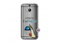 Coque HTC ONE M8 Je peux pas j'ai cricket