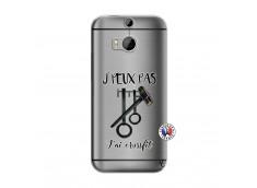 Coque HTC ONE M8 Je peux pas j'ai crossfit