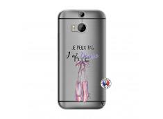 Coque HTC ONE M8 Je peux pas j'ai danse