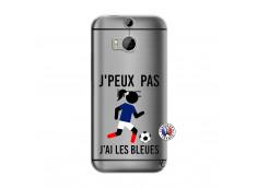 Coque HTC ONE M8 Je Peux Pas J Ai Les Bleues